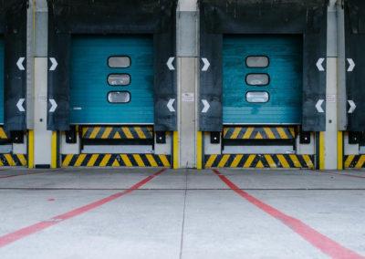 warehouse dock doors in Durham NC